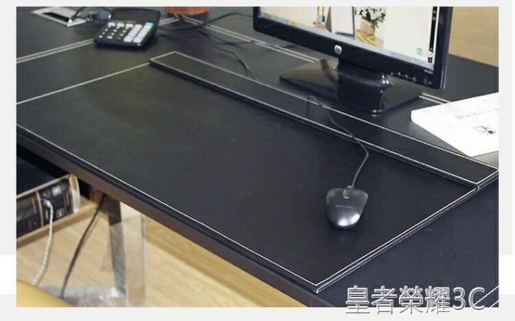 桌墊 新品 PU皮革辦公桌墊寫字墊 超大加厚寫字板電腦墊皮墊台墊滑鼠墊 2021新款
