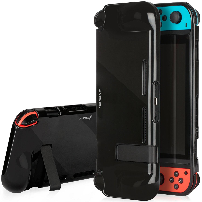 huge discount 3b1b8 d1dd8 Fosmon TPU Case for Nintendo Switch - Black