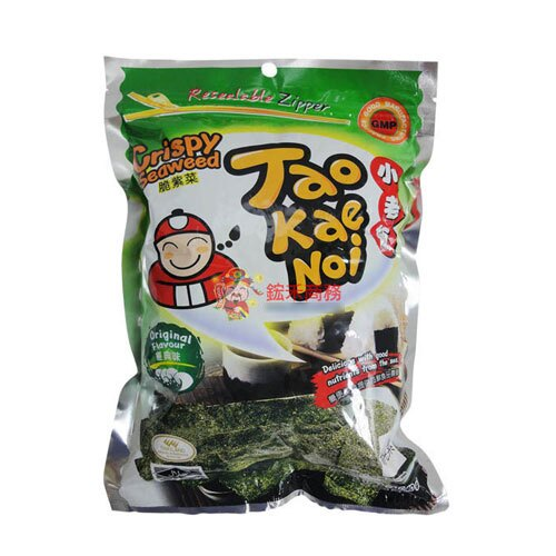 【0216零食會社】泰國 小老板厚片海苔(原味)-36g