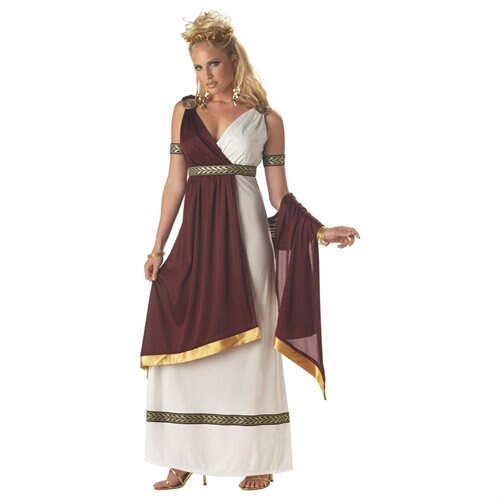 Adult Roman Empress Halloween Costume 0