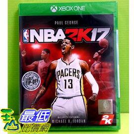 (現金價) Xbox One 美國職業籃球 NBA 2K17 繁體中文版