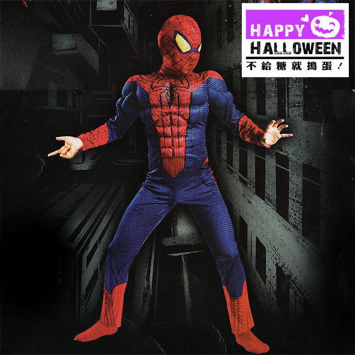 【派對服裝-紫標】驚奇蜘蛛英雄裝 (面具+衣服) JDBT-081601( 派對服裝系列滿額599元加送南瓜糖袋1個 )