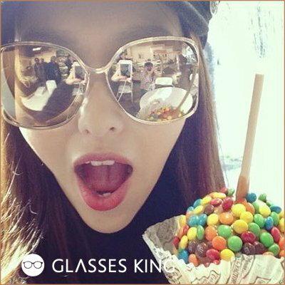 眼鏡王☆現貨!超大框雷朋金屬帥氣反光鏡片太陽眼鏡墨鏡水銀咖啡金藍黑色白色VB反戴S154