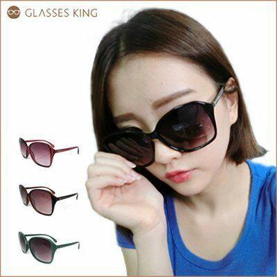 眼鏡王☆T字金屬膠框夏天必備超大框方框方形太陽眼鏡細腳墨鏡韓紅豹紋綠黑色咖啡S-50