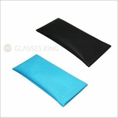 眼鏡王☆哈哈袋皮革紋素面眼鏡袋手機袋筆袋文具袋保護袋收納袋彈簧片可批發藍色黑色