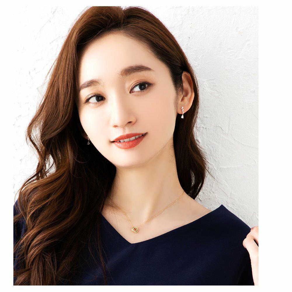 日本Cream Dot  /  浪漫鋯石穿孔耳環  /  p00001  /  日本必買 日本樂天代購  /  件件含運 1