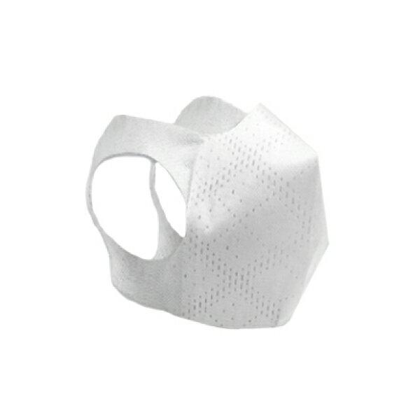 (倒數出清:3入組)台灣製造 時尚白 超服貼3D立體 成人兒童口罩(80片/盒)