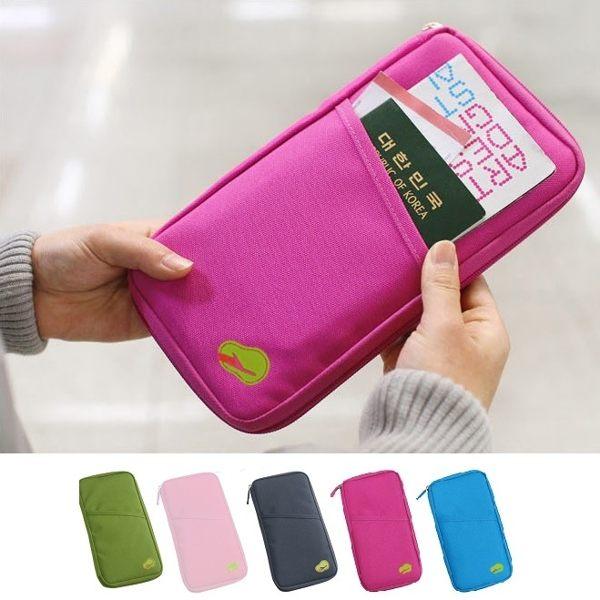 韓版長款多功能護照包 證件包 短款護照夾 收納袋 旅遊收納 名片夾卡包【RB331】
