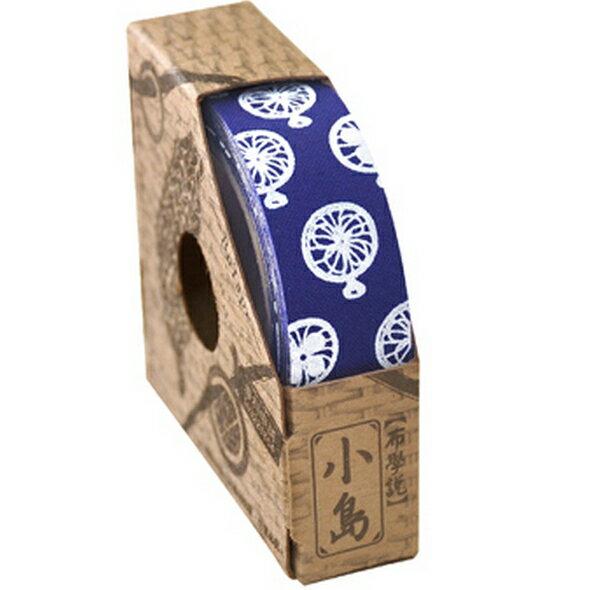 【布學無數】青花瓷系列布膠帶 (1入)( 藍底電風扇 ) 生活/創意商品