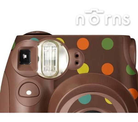 Norns:NORNSMINI7S專用FUJIFILM日本富士原廠拍立得相機機身貼紙【ChocoMarble款】