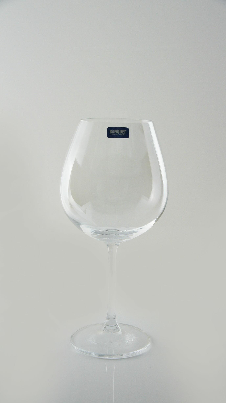 【曉風】水晶紅酒杯6入裝*《Banquet Crysta 勃根地水晶葡萄酒杯 650ml 》 1