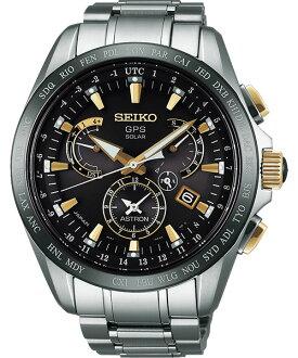 Seiko Astron 8X53-0AB0K(SSE073J1)鈦金屬時尚太陽能GPS校時腕錶/黑面44.6mm