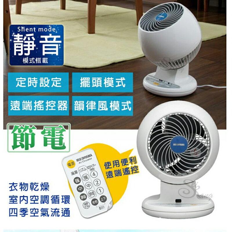 【日本IRIS】6吋空氣對流靜音循環風扇 PCF-C18T 附遙控器 2