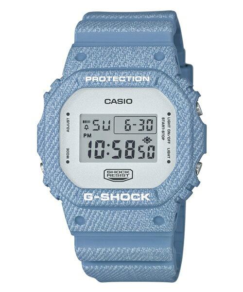 CASIO G~SHOCK DW~5600DC~2牛仔丹寧 腕錶  48.9^~42.8m