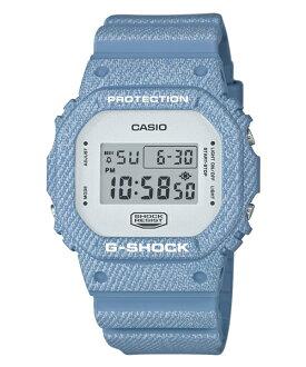 CASIO G-SHOCK DW-5600DC-2牛仔丹寧流行腕錶/48.9*42.8mm