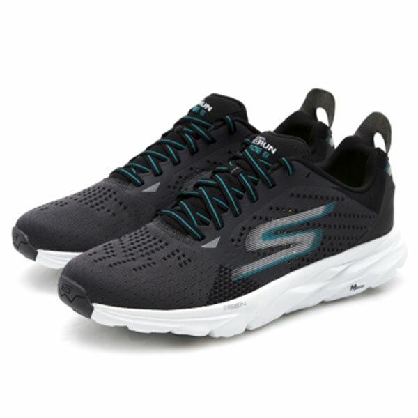 【SKECHERS】GO RUN RIDE 6 慢跑鞋 運動鞋 黑色 (男) -54117CCTL