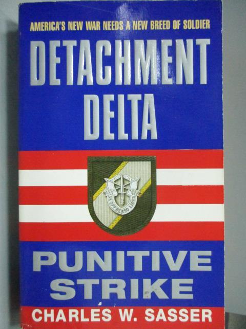 ~書寶 書T1/原文小說_NOH~Detachment Delta_Ponitive St