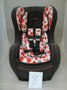 【淘氣寶寶*二手出售】編號8法國納尼亞旗艦成長型1-4歲isofix安全汽座汽車安全座椅(FB00389)