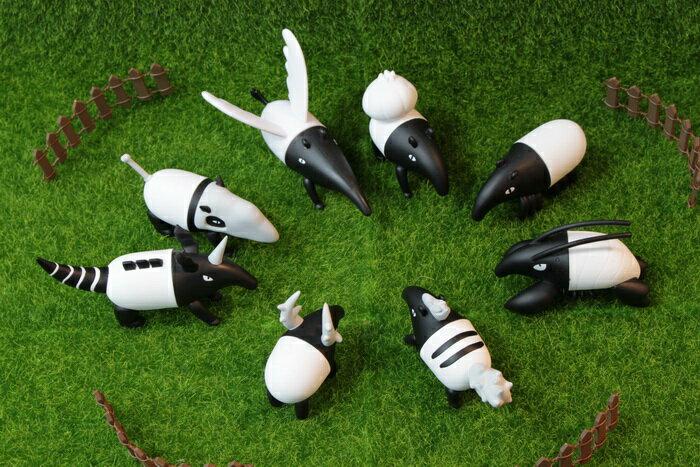 來貘 MONSTERS 寶可貘 神奇來貘寶貝 64變馬來貘 磁鐵 公仔 盒玩  療癒小物 整套販售 共8款