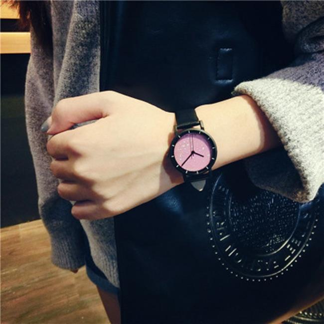 50%OFF SHOP【H019044WAH】韓國小巧迷你氣質女生皮帶學生潮流 簡約小錶盤