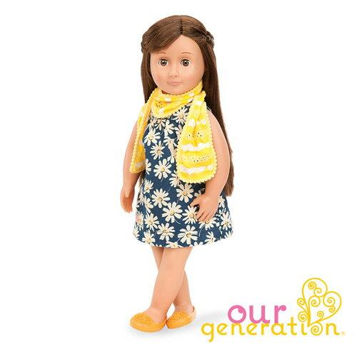 【奇買親子購物網】ourgeneration18英吋豪華組娃娃-(瑞絲Reese)