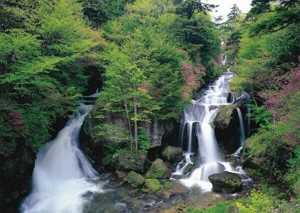 壁紙屋本舖:日本景區風景畫龍頭瀑布MIT壁畫門市壁畫8040