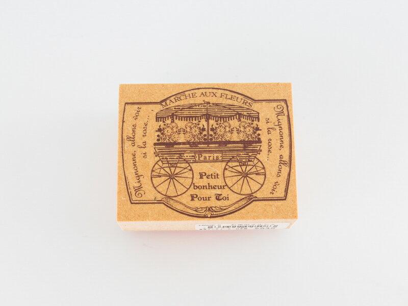 *小徑文化*日本進口手作雑貨 TOKYO ANTIQUE stamp - お花のマルシェ ( Y4050P-H )