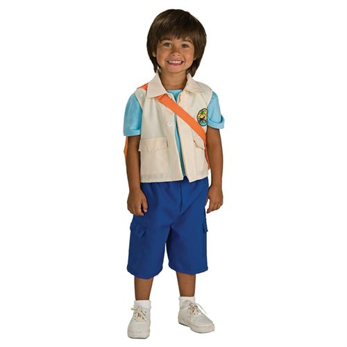 Rubies Halloween Costume Co 33187 Go, Diego, Go  Deluxe Diego Child Halloween Costume Size Small 0