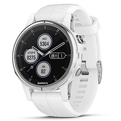 【免運】GARMIN fenix 5S Plus 複合式運動GPS音樂心率腕錶 贈日本SASAKI運動毛巾 4