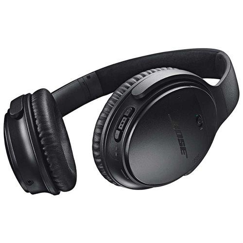 Bose QuietComfort 35 Wireless Headphones - Stereo - Black - Wireless - Bluetooth - Over-the-head - Binaural - Circumaural - Yes 2