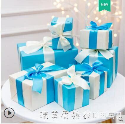 圣誕節裝飾禮盒堆頭禮物圣誕樹底部套餐創意商場活動場景布置擺件 NMS 秋冬新品特惠