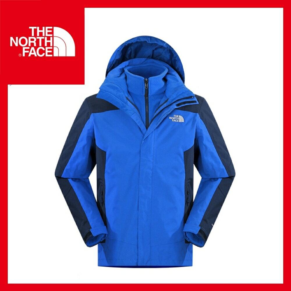 【The North Face 男 HV刷毛兩件式外套《怪獸藍/宇宙藍》】CUG2/保暖/戶外/運動/登山