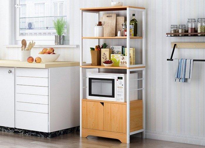 MAMAGO廚房電器架/層架/電器收納架/廚櫃/餐櫃/廚房收納架/碗盤櫃/廚房電器櫃XYL85(三、四層)現貨熱銷中!