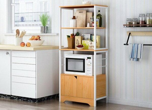 MAMAGO廚房電器架層架電器收納架廚櫃餐櫃廚房收納架碗盤櫃廚房電器櫃XYL85(三、四層)現貨熱銷中!
