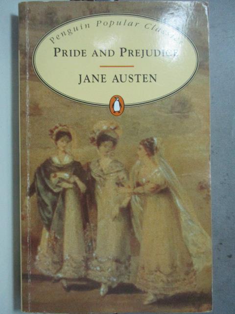 【書寶二手書T2/原文小說_HBD】Pride and prejudice_Jane Austen