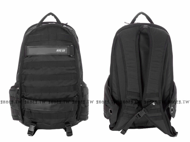 Shoestw【BA5130005】NIKE SB RPM BACKPACK 黑色 多袋 運動後背包