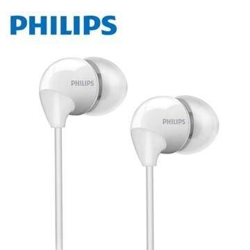 【迪特軍3C】PHILIPS 飛利浦 SHE3590 耳塞式耳機 白色