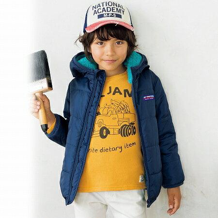 【NISSEN】童裝|內側毛絨外套 0