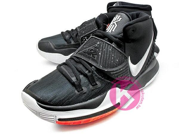 2019-2020 Kyrie Irving 最新代言鞋款 限量發售 NIKE KYRIE 6 VI EP BLACK WHITE 黑白 前掌 ZOOM TURBO AIR 氣墊 (BQ4631-001) 1219 1