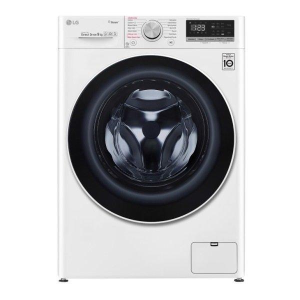 LG 樂金 WiFi滾筒洗衣機 蒸洗脫烘 WD-S105VDW 10.5公斤 典雅白 黑皮TIME 原廠保固