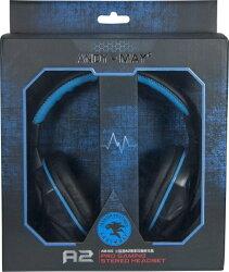 【迪特軍3C】安迪美眉 火狐狸 A2 專業耳機麥克風 (AM-802) 藍色