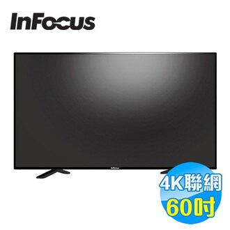 鴻海 INFOCUS 60吋 4KUHD連網液晶顯示器 FT-60CA601 【送標準安裝】