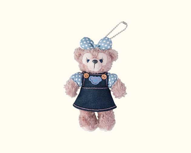 【真愛日本】16062700019限定站姿別針吊飾-丹寧裙雪莉玫  Duffy 達菲熊&ShellieMay 日本帶回 預購