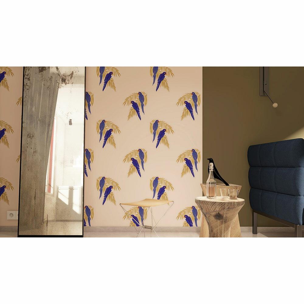 法國壁紙  鳥紋 鸚鵡紋 Season Paper Parrots PP-S1801 壁紙 3
