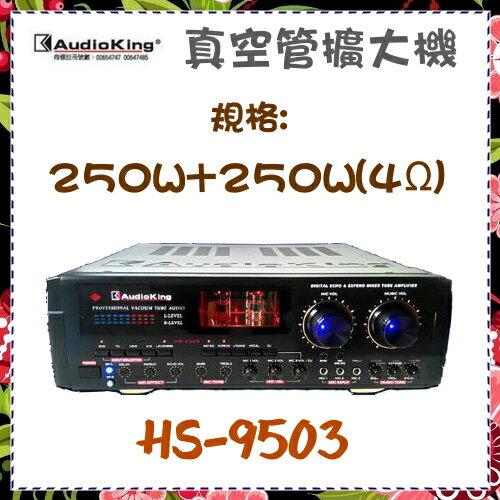*可議價*【AudioKing 台灣憾聲】真空管擴大機 黑色 《HS-9503》全新原廠保固