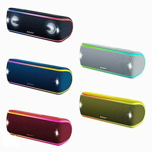 SONY可攜式無線防水藍牙喇叭SRS-XB31PartyBooster創造特殊音效48mm全音域單體電池續航力長達24小時
