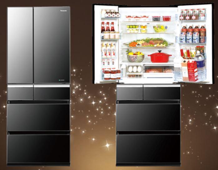 Panasonic 國際牌 608L 鏡面ECO NAVI六門變頻冰箱 NR~F610VX
