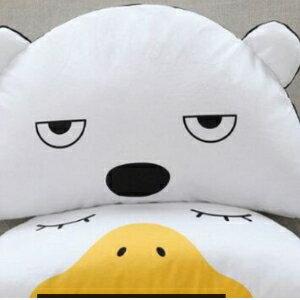 美麗大街【HB20160407A】創意新款可拆洗毛絨玩具兒童陪伴抱枕鴨子西瓜熊布娃娃