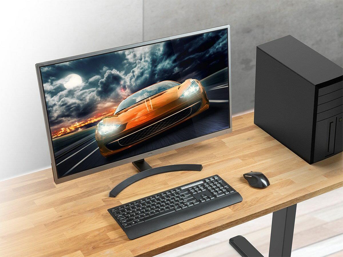Mono 32in 4k Hdr Ips Ultra Slim Desktop Monitor Metal With Bezel 5