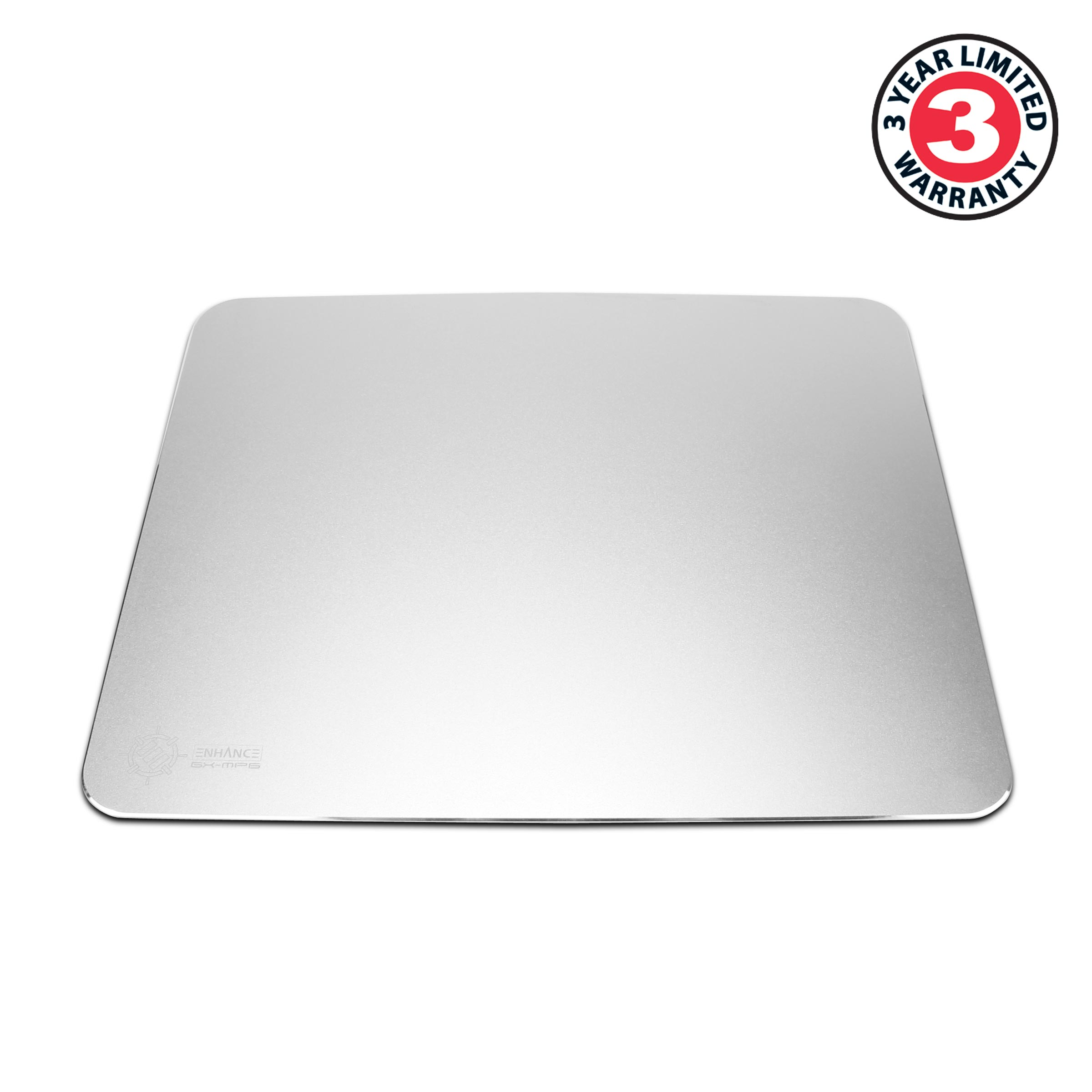 ENHANCE GX-MP6 Gaming Aluminum Mouse Pad with Natural Rubber Backing & Low-Friction Tracking Surface 1